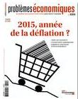 Imagette de la couverture - 2015, année de la déflation ?